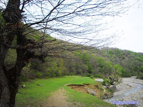 نمایی از منطقه « بز پل » - روستای پایین ده - 24 فروردین 1392 - عکس از عطیه نظری